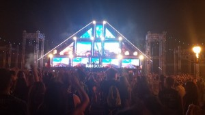 sub focus bass pod stage